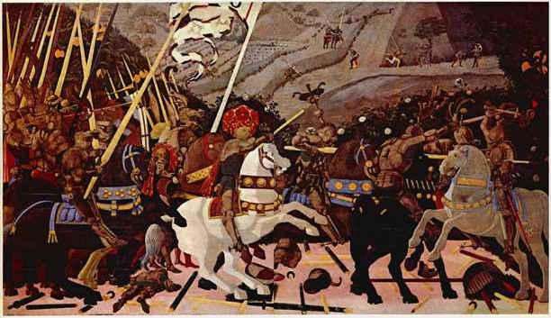 Paolo Uccello  Battle of San  Uccello Battle Of San Romano