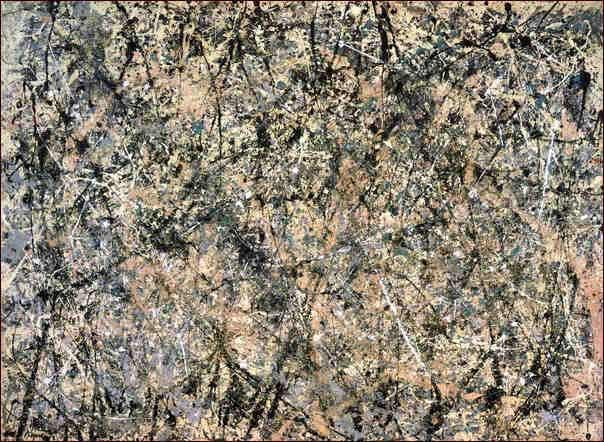 Number 1 (Lavender Mist), Jackson Pollock, 1950
