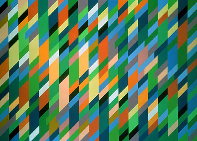 Neues Museum, Nurnberg, Germany 2003 Bridget Riley.  All rights reserved...